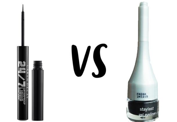 Staylast Waterproof Liquid Vs Gel Eyeliner